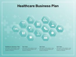 Healthcare Business Plan Ppt Powerpoint Presentation Styles Elements
