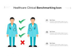 Healthcare Clinical Benchmarking Icon