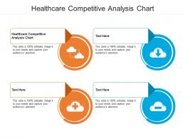 Healthcare Competitive Analysis Chart Ppt Powerpoint Presentation Show Pictures Cpb