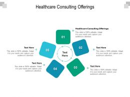 Healthcare Consulting Offerings Ppt Powerpoint Presentation Gallery Example Topics Cpb