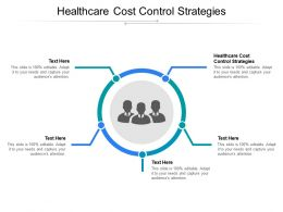 Healthcare Cost Control Strategies Ppt Powerpoint Presentation File Diagrams Cpb