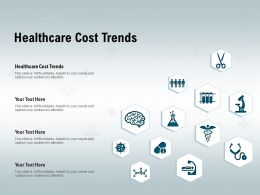Healthcare Cost Trends Ppt Powerpoint Presentation File Guidelines