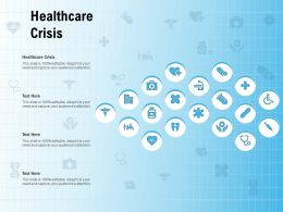 Healthcare Crisis Ppt Powerpoint Presentation Styles Images