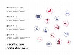Healthcare Data Analysis Ppt Powerpoint Presentation Layouts Format Ideas