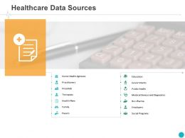 Healthcare Data Sources Employers Ppt Powerpoint Presentation Infographics Clipart Images