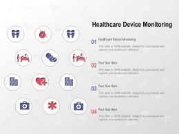 Healthcare Device Monitoring Ppt Powerpoint Presentation Gallery Guide