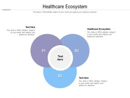 Healthcare Ecosystem Ppt Powerpoint Presentation Information Cpb
