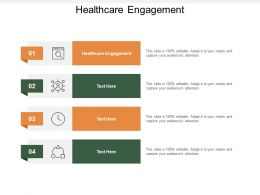 Healthcare Engagement Ppt Powerpoint Presentation Summary Maker Cpb