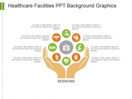 Healthcare Facilities Ppt Background Graphics