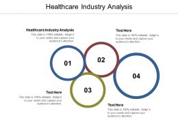 Healthcare Industry Analysis Ppt Powerpoint Presentation Files Cpb