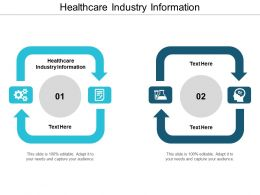 Healthcare Industry Information Ppt Powerpoint Presentation File Graphics Pictures Cpb