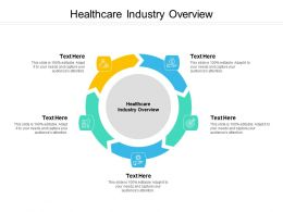 Healthcare Industry Overview Ppt Powerpoint Presentation Pictures Graphic Tips Cpb
