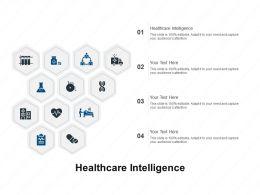 Healthcare Intelligence Ppt Powerpoint Presentation Ideas Maker