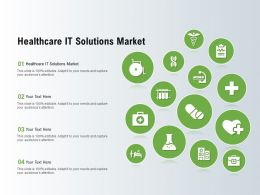 Healthcare It Solutions Market Ppt Powerpoint Presentation Styles Elements