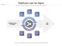 Healthcare Lean Six Sigma Ppt Powerpoint Presentation Layouts Images Cpb