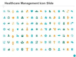 Healthcare Management Icon Slide Bulb Ppt Powerpoint Presentation Styles Graphics Tutorials
