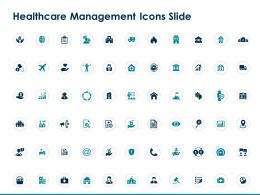 Healthcare Management Icons Slide Ppt Powerpoint Presentation Designs Download