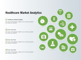 Healthcare Market Analytics Ppt Powerpoint Presentation Gallery Graphic Images