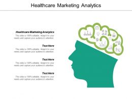 Healthcare Marketing Analytics Ppt Powerpoint Presentation Ideas Icon Cpb