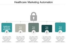 Healthcare Marketing Automation Ppt Powerpoint Presentation Pictures Demonstration Cpb