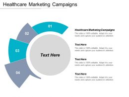 Healthcare Marketing Campaigns Ppt Powerpoint Presentation Portfolio Background Cpb