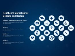 Healthcare Marketing For Dentists And Doctors Ppt Powerpoint Presentation Inspiration