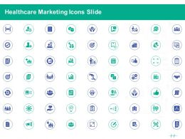 Healthcare Marketing Icons Slide Ppt Powerpoint Presentation Summary Maker