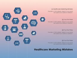 Healthcare Marketing Mistakes Ppt Powerpoint Presentation Gallery Slide