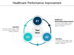 Healthcare Performance Improvement Ppt Powerpoint Presentation Inspiration Infographic Template CPB