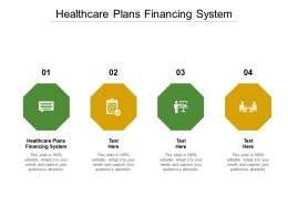Healthcare Plans Financing System Ppt Powerpoint Presentation Portfolio Slides Cpb