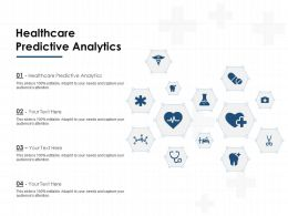 Healthcare Predictive Analytics Ppt Powerpoint Presentation Icon Slides