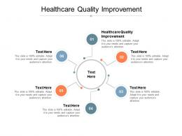Healthcare Quality Improvement Ppt Powerpoint Presentation Icon Grid Cpb