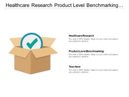 Healthcare Research Product Level Benchmarking Regular Competitor Update Portfolio Strategy