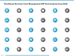 Healthcare Revenue Cycle Management SW Deal Analysis Icons Slide Ppt Powerpoint Presentation File