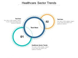 Healthcare Sector Trends Ppt Powerpoint Presentation Styles Slide Cpb