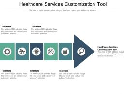 Healthcare Services Customization Tool Ppt Powerpoint Presentation File Smartart Cpb