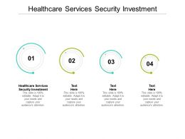 Healthcare Services Security Investment Ppt Powerpoint Presentation Inspiration Example Introduction Cpb