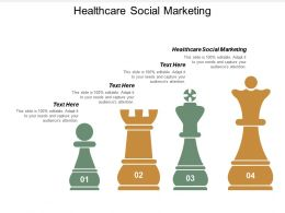 Healthcare Social Marketing Ppt Powerpoint Presentation File Grid Cpb