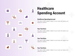 Healthcare Spending Account Ppt Powerpoint Presentation Icon Aids