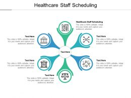Healthcare Staff Scheduling Ppt Powerpoint Presentation Model Slides Cpb