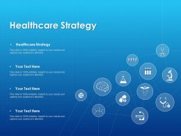 Healthcare Strategy Ppt Powerpoint Presentation Infographic Template Outline
