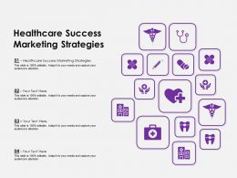 Healthcare Success Marketing Strategies Ppt Powerpoint Presentation Summary Inspiration