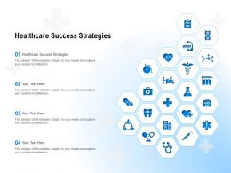 Healthcare Success Strategies Ppt Powerpoint Presentation Outline Designs Download