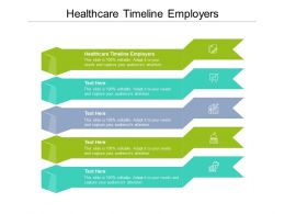 Healthcare Timeline Employers Ppt Powerpoint Presentation Professional Guidelines Cpb