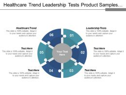 Healthcare Trend Leadership Tests Product Samples Product Design Cpb