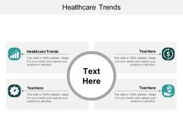 Healthcare Trends Ppt Powerpoint Presentation Outline Samples Cpb