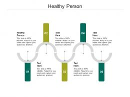 Healthy Person Ppt Powerpoint Presentation Pictures Design Templates Cpb