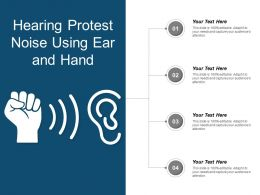 Hearing Protest Noise Using Ear And Hand