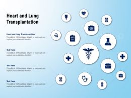 Heart And Lung Transplantation Ppt Powerpoint Presentation Icon Templates
