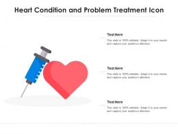 Heart Condition And Problem Treatment Icon